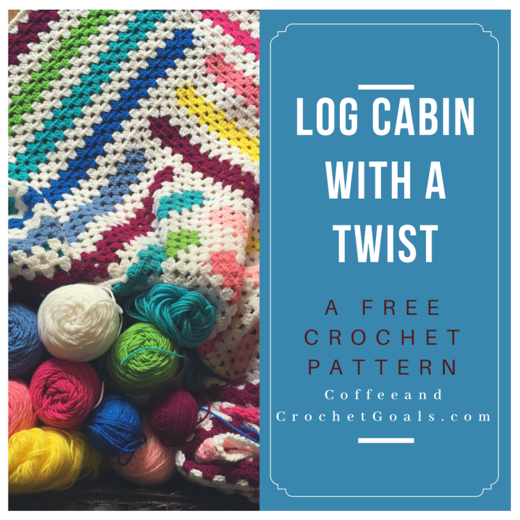 Check out the free pattern by CoffeeandCrochetGoals for this large colorful afghan.