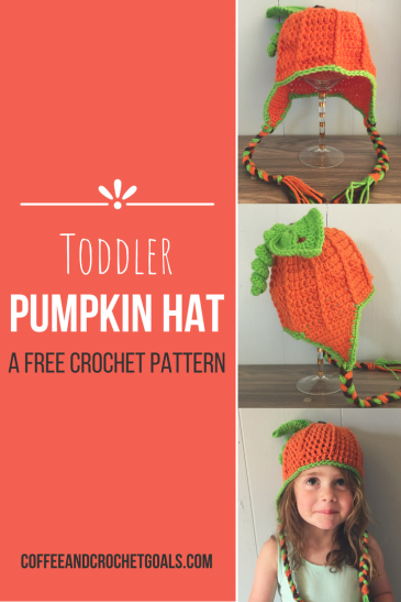 Toddler Pumpkin Hat crochet pattern is sure to give them pumpkin to talk about