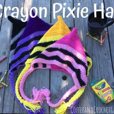 The Crayon Pixie Hat is a fun and easy project for back to school or a quick Halloween costume