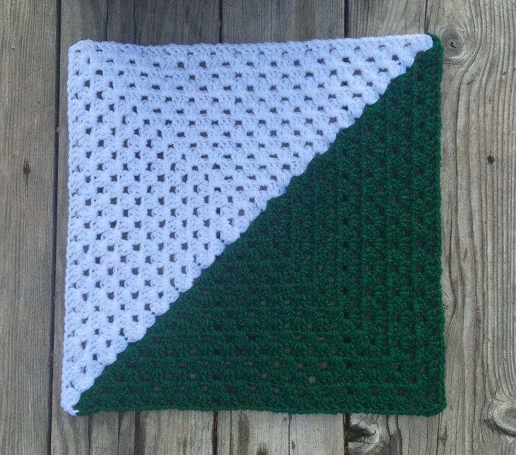 half square triangle granny squares