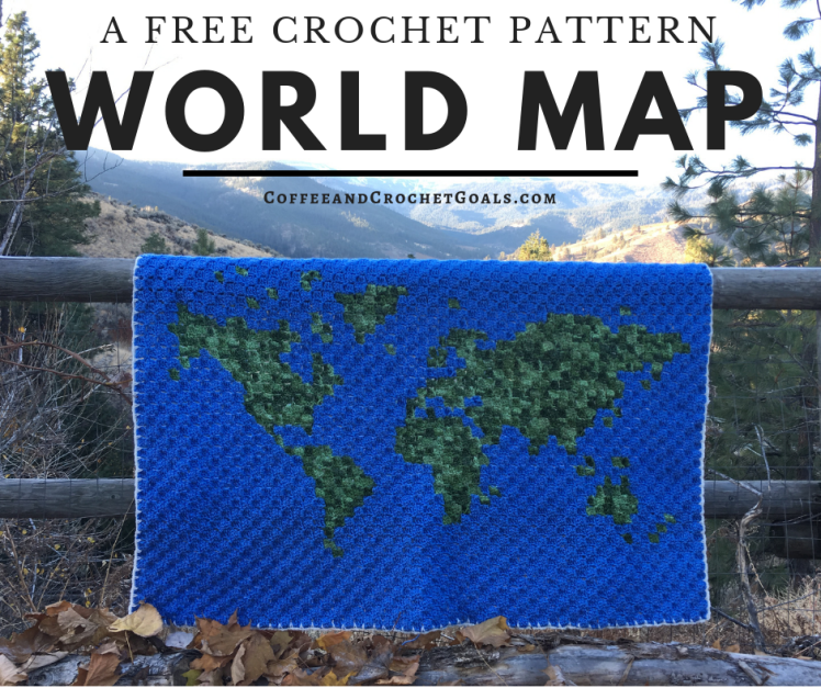 This free corner to corner World Map blanket is so majastic that is will become an heirloom peice in any home around the globe.