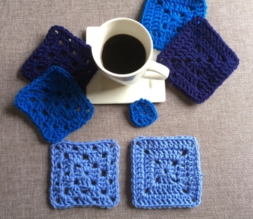 The Granny square tutorial from CoffeeandCrochetGoals features TWO styles of granny squares the Granny Stitch and the Solid Granny Square.